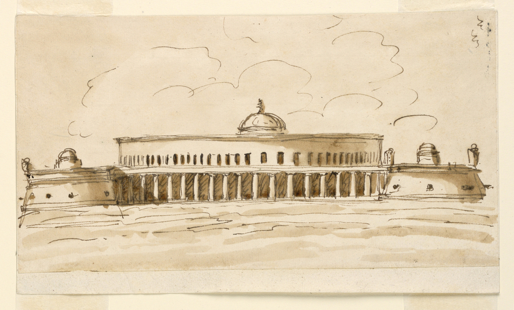 Drawing, Memorial structure