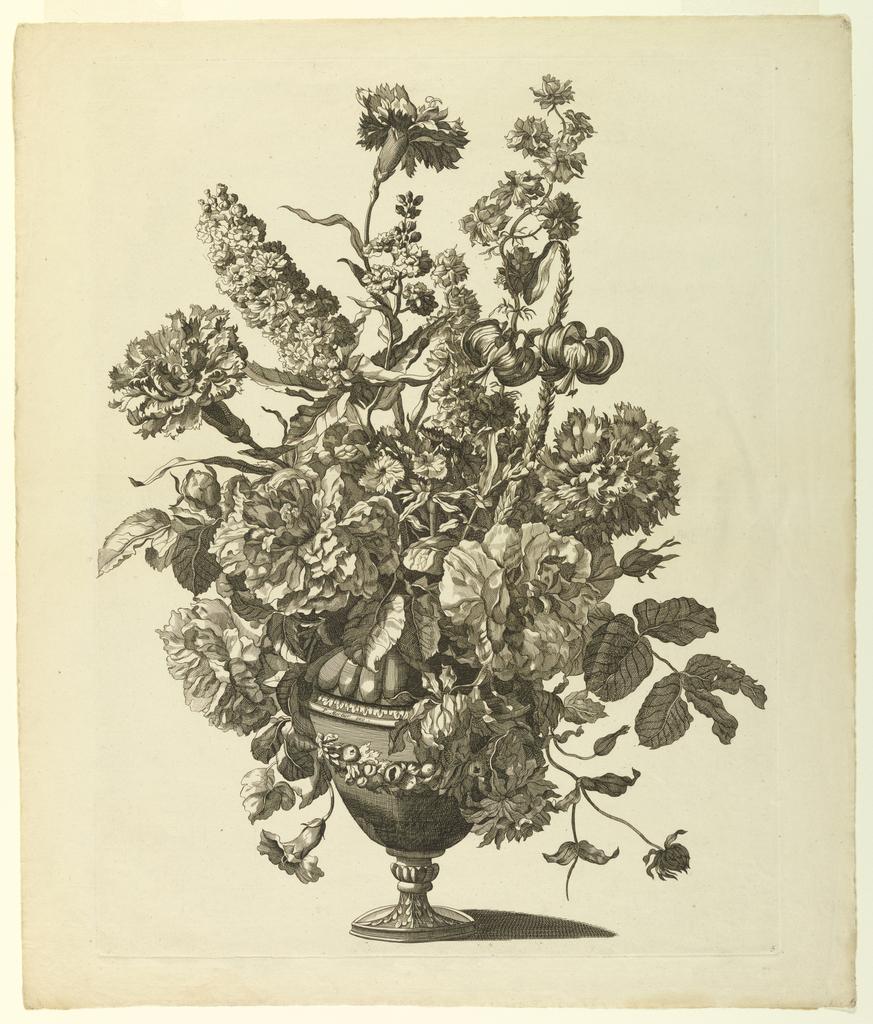 Print, Vase of Flowers