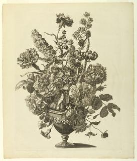 Print, Vase of Flowers, 1680
