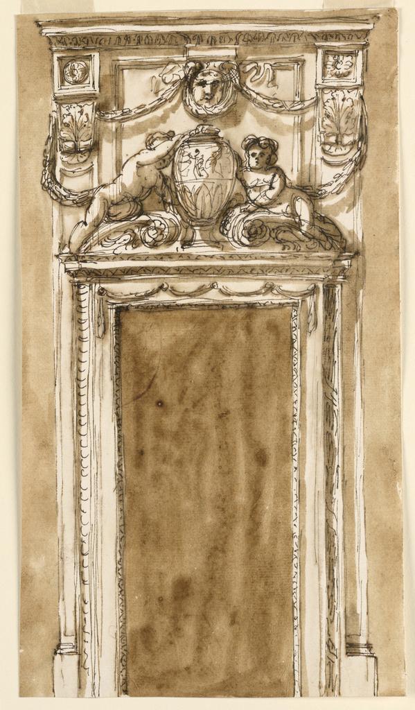 Drawing, Doorcase