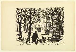 Print, Flic et Bonne, 1954