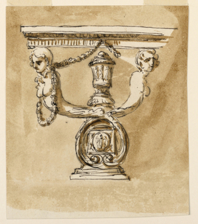 Design for a Console Table.