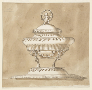 Drawing, Tureen