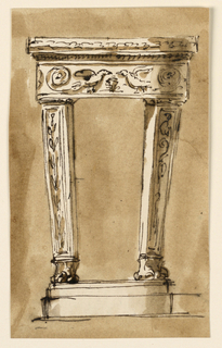 Drawing, Console table