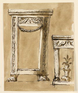 Drawing, Console tables