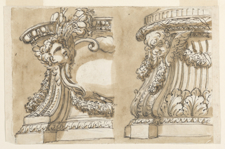 Drawing, Pedestal
