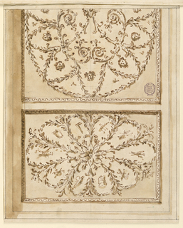 Drawing, Ceiling decoration