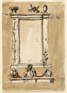 Drawing, Looking glass