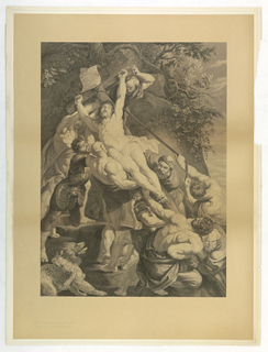 Print, Elevation of the Cross, 1803–1862
