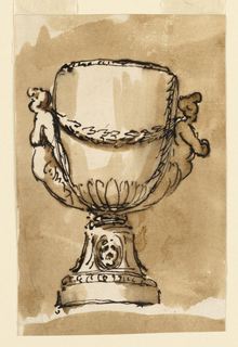 Drawing, Goblet