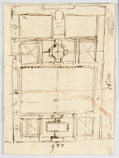 Drawing, Hospital Trinita de Pellegrini