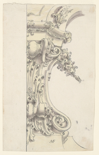 Drawing, Architectural Ornaments t, ca. 1750