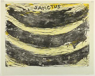 Print, Sanctus, 1958