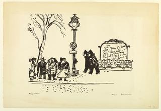Print, Flics (The Fuzz), 1954