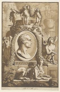 Print, Portrait of Mauro Tesi (l, 1787