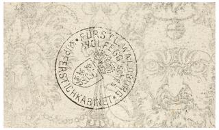 Print, Plate from 12 Stick Zum Verzaighnen Stechen Ver Fertigt  (Set of Twelve Designs for Engraved Vessels)