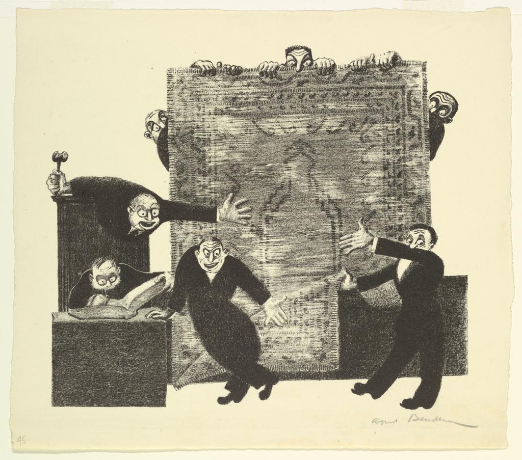 Print, Auction, 1944