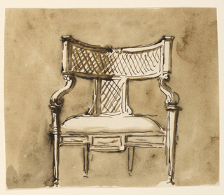 Drawing, Chairs
