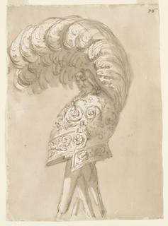 Drawing, Helmet