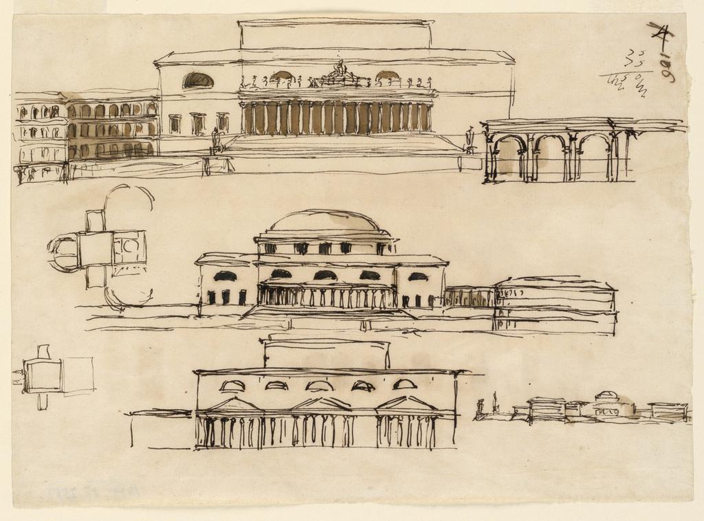 Drawing, Palace