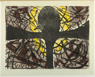 Print, Judicare Vivos Et Mortuos, 1958