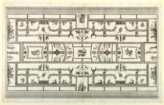 Print, Ceiling Design, 19th century