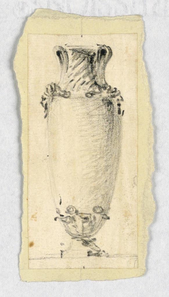 Drawing, Vase