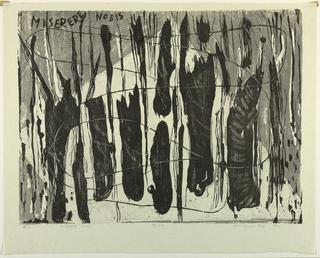 Print, Miserere Nobis, 1958