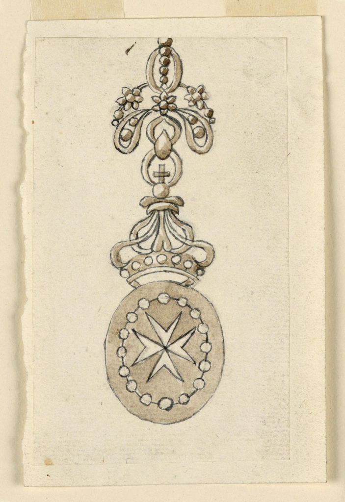 Drawing, Design for a Badge of a Medal