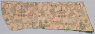 Fragment that once was part of a western garment for it has buttonholes
