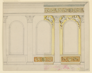 Drawing, Painted Wall Decoration