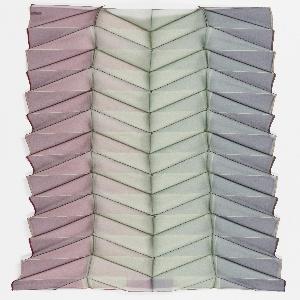 Scarf, Origami Pleat Scarf