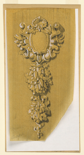 Drawing, Ornament Design, 1866