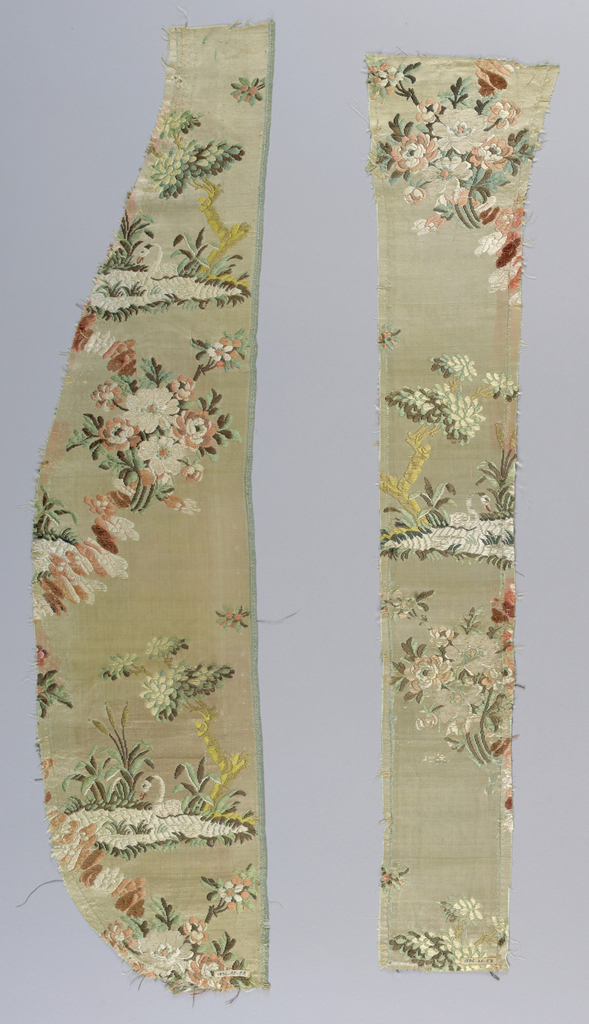 Fragments, 18th century