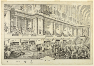 Print, Louis XVI of France Taking the Oath at His Coronation