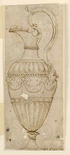 Drawing, Design for a Pitcher