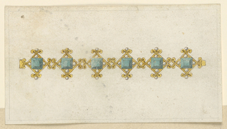 Drawing, Designs for a Bracelet, 1800–1825