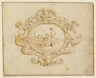 Drawing, Jewel design, 1815–50