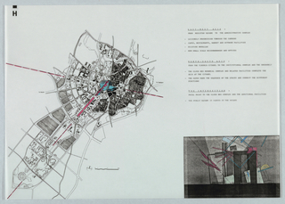 Drawing, Site Plan of Samarkind, 1991