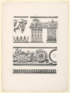 Print, Frieze and Ornamental Bor, 1822