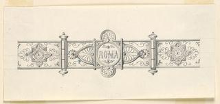 Drawing, Design for a Bracelet, 1875–1900
