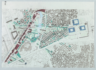 Drawing, Plan of Entire Project an, 1991
