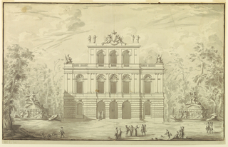 Drawing (Italy), 1775