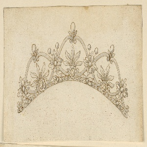 Drawing, Design for a Coronet, 1815–25