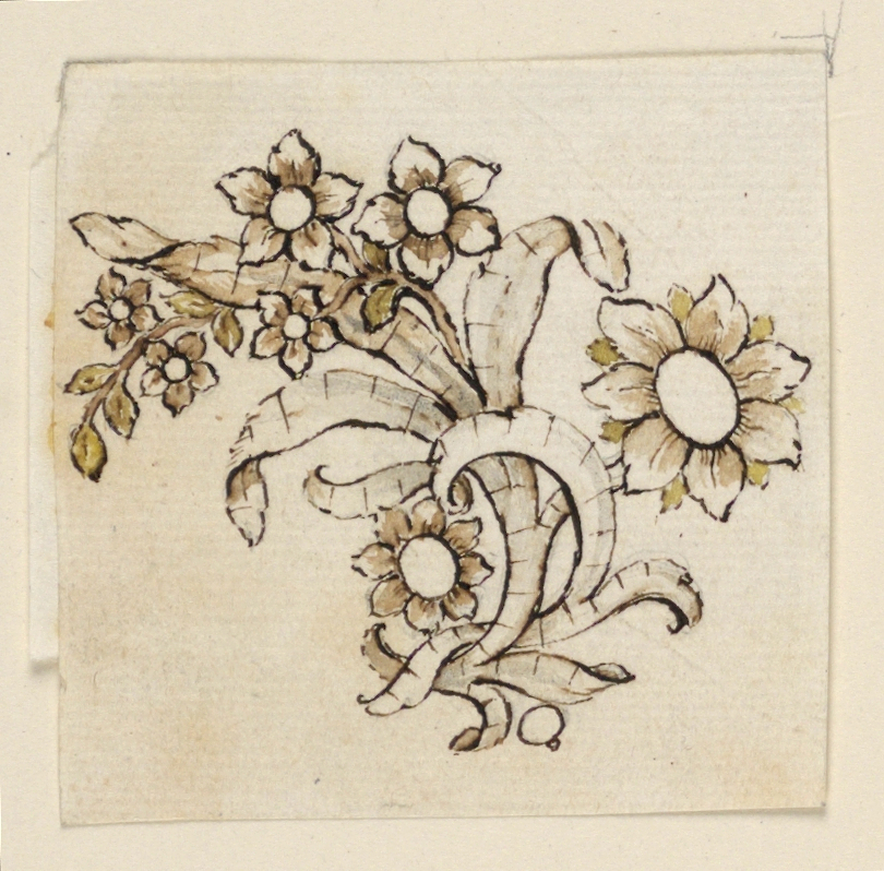 Drawing, Design for a Brooch