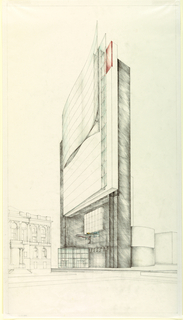 Drawing, Municipal Office Building, Hartford, Connecticut