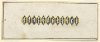 Drawing, Bracelet, ca. 1810