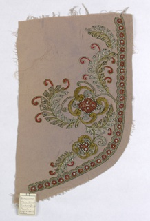 Embroidery Sample (USA), 1930–39