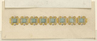 Drawing, Design for a Bracelet, 1800–1825