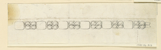 Drawing, Design for a bracelet, 1805–15